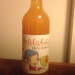 Apfelsaft Ernte 2013