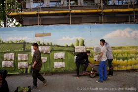 """Die neuen """"hängenden Gärten"""" vom Mehringplatz"""